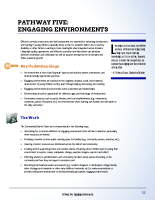 Pathway Five – Engaging Environments