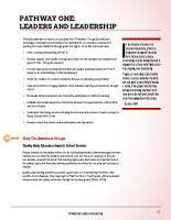 Pathway One – Leaders and Leadership