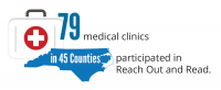 79 Clinics in 45 Counties